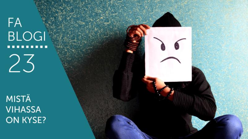 Mistä vihassa on kyse blogi