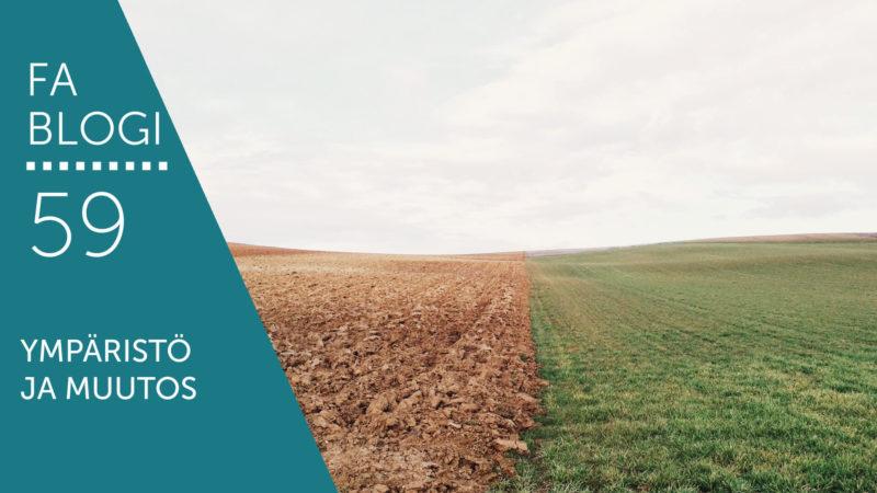 Ympäristö ja muutos blogi