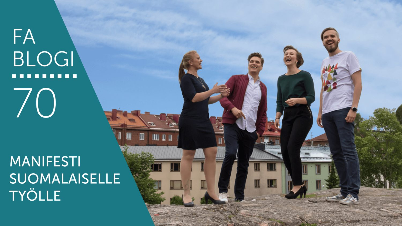 Manifesti suomalaiselle työlle blogi
