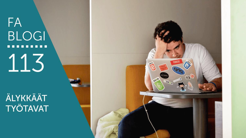 Älykkäät työtavat blogi